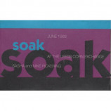 VARIOUS - SOAK : SASHA AND MIKE PICKERING - Cassette