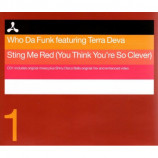 WHO DA FUNK - STING ME RED (CD 1) - CD Single