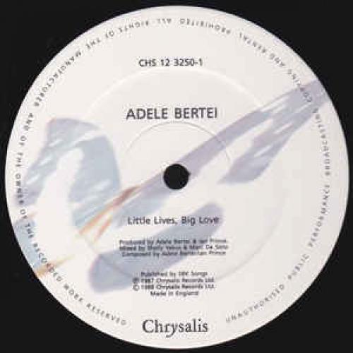 """Adele Bertei - Little Lives,Big Love - Vinyl - 12"""""""