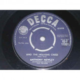 Anthony Newley - And The Heavens Cried / Lonely Boy And Pretty Girl