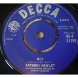 Anthony Newley - Why - 7''- 4-P