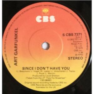 Art Garfunkel - Since I Don't Have You - Vinyl - 45''