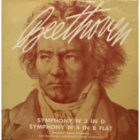 Beethoven,Frankfurt Opera Orchestra,Carl Bamberger - Symphony No.2 In D; Symphony No.4 In B Flat