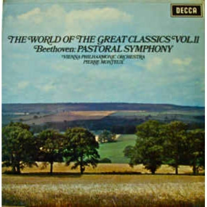 Beethoven,Pierre Monteux,Vienna Philharmonic Orche - The World Of The Great Classics Vol.II. Beethoven: Symphony  - Vinyl - LP