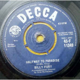 Billy Fury - Halfway To Paradise