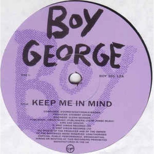 """Boy George - Keep Me In Mind - Vinyl - 12"""""""