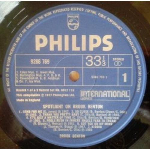 Brook Benton - Spotlight On Brook Benton - 2xLP, Comp, Gat - Vinyl - 2 x LP