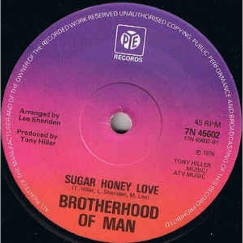 Brotherhood Of Man - My Sweet Rosalie / Sugar Honey Love - Vinyl - 45''