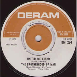 Brotherhood Of Man - United We Stand - Vinyl - 45''