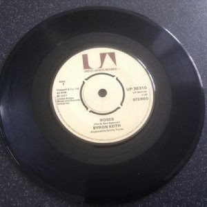 "Byron Keith - Roses - 7'' - Vinyl - 7"""