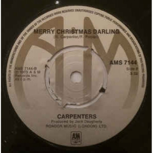 Carpenters - Santa Claus Is Coming To Town - Vinyl - 45''