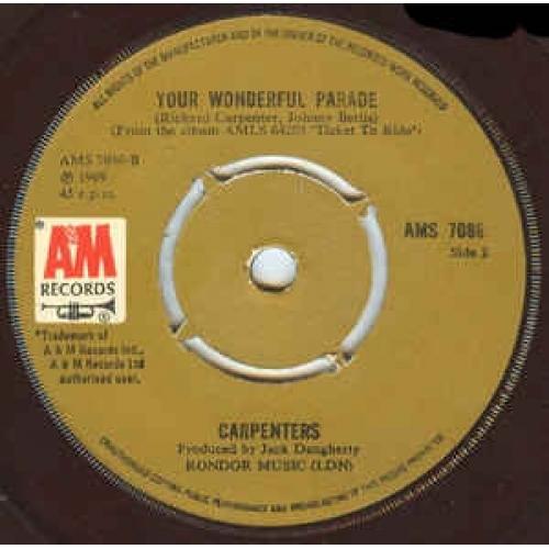 Carpenters - Top Of The World - Vinyl - 45''