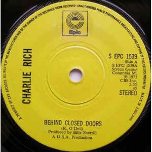 Charlie Rich - Behind Closed Doors - Vinyl - 45''