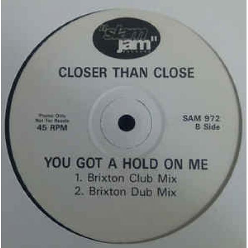 "Closer Than Close - You Got A Hold On Me - Vinyl - 12"""