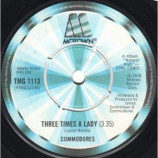 Commodores - Three Times A Lady - 7''- Sol