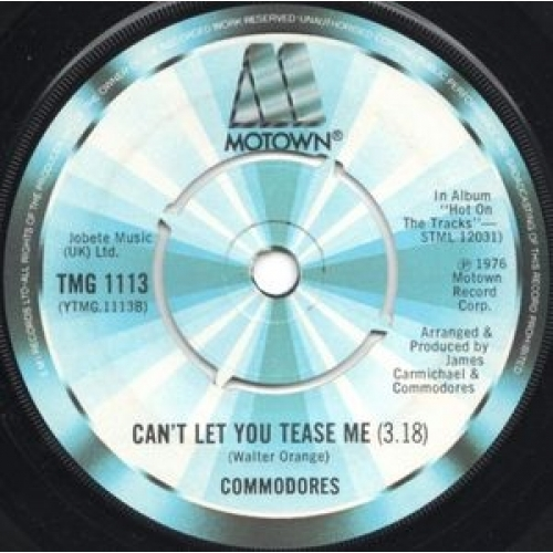 """Commodores - Three Times A Lady - 7''- Sol - Vinyl - 7"""""""