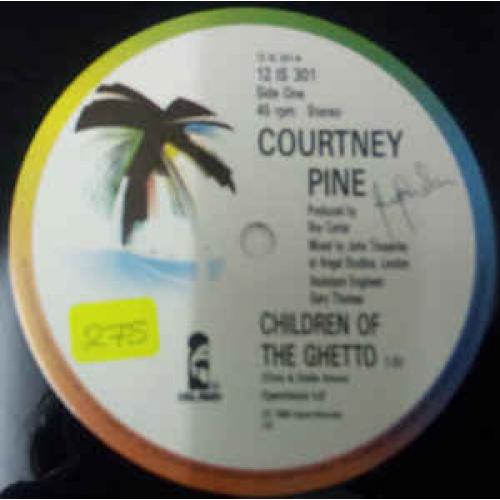 "Courtney Pine - Children Of The Ghetto - Vinyl - 12"""