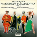D'Oyly Carte Opera Company - The World Of W.S. Gilbert & Sullivan Vol 1 - LP, Mono