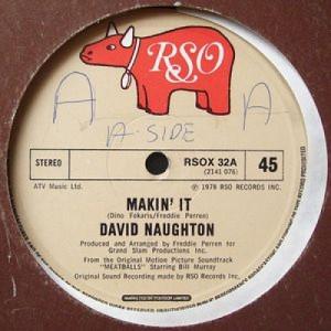 "David Naughton - Makin' It / Still Makin' It  - Vinyl - 12"""