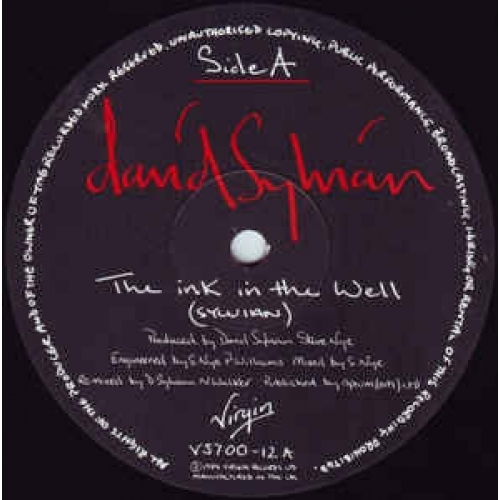 David Sylvian - The Ink In The Well - Vinyl Record - 12""