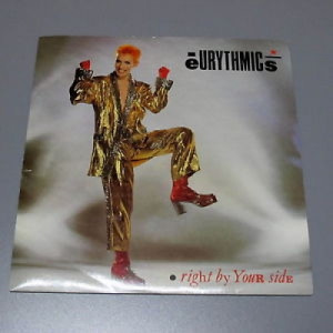 Eurythmics - Right By Your Side - 7''- Single - Vinyl - 7""