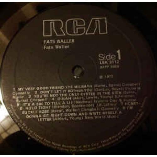 Fats Waller - The Vocal Fats Waller - Vinyl - LP