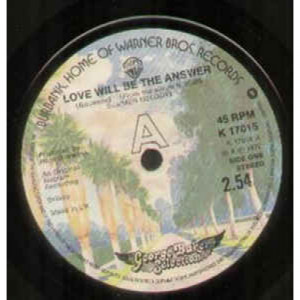 """George Baker Selection - Love Will Be The Answer - Vinyl - 7"""""""