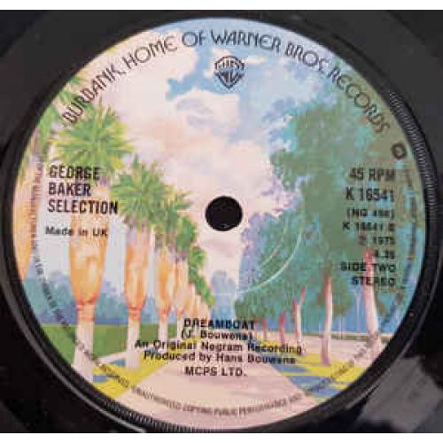 "George Baker Selection - Paloma Blanca - Vinyl - 7"""