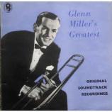 Glen Miller And His Orchestra -  Glenn Miller's Volume 1 Original Film Sound Tracks