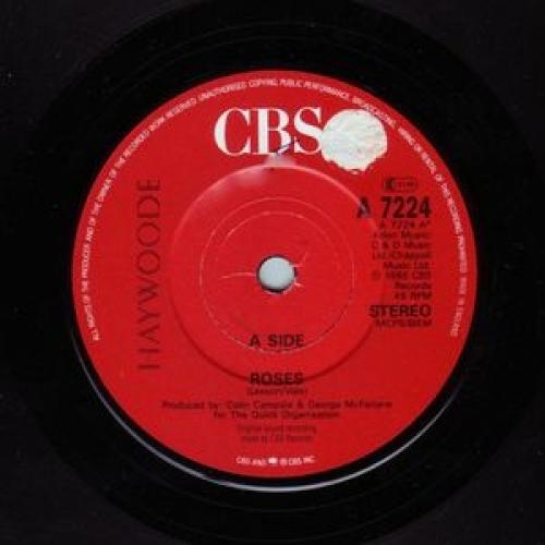 """Haywoode - Roses - 7''- Single - Vinyl - 7"""""""