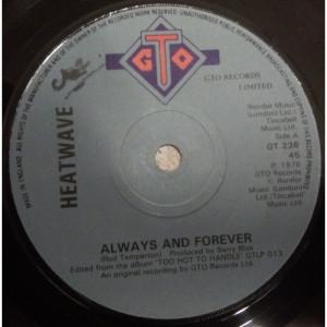Heatwave - Always And Forever - Vinyl - 45''