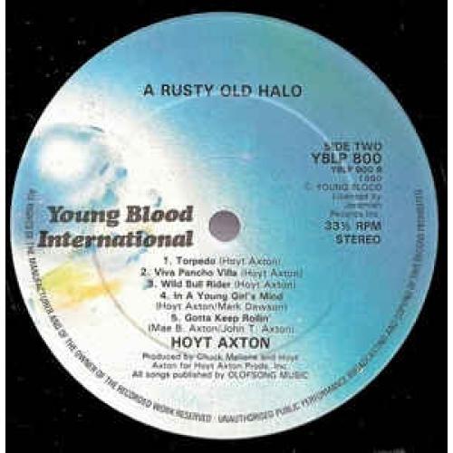Hoyt Axton - A Rusty Old Halo - Vinyl - LP