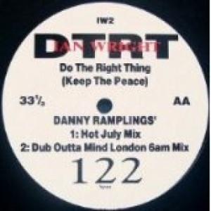 "Ian Wright - Do The Right Thing (Keep The Peace)  4X Mixes - Vinyl - 12"""