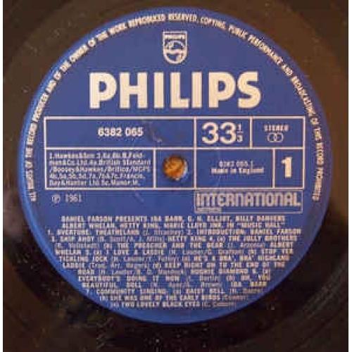 Ida Barr,G.H.Elliott, Billy Danvers,Albert Whelan, - Music Hall Daniel Farson Presents - Vinyl - LP