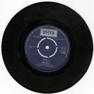 """John Miles - Highfly / There's A Man Behind The Guitar - 7'' - Vinyl - 7"""""""
