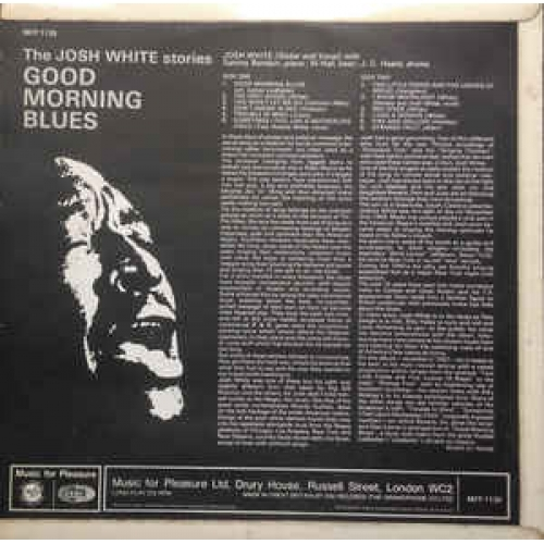 Josh White - Good Morning Blues - The Josh White Stories - Vinyl - LP
