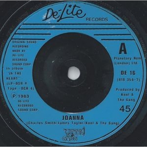 "Kool & The Gang - Joanna / Tonight - 7''- Single - Vinyl - 7"""