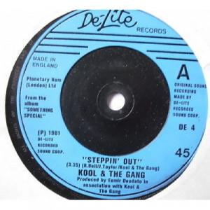 "Kool & The Gang - Steppin' Out - 7'' - Vinyl - 7"""