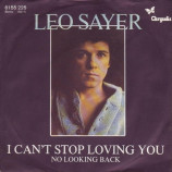 Leo Sayer - I Can't Stop Loving You (Though I Try) - 7''- Single, Inj