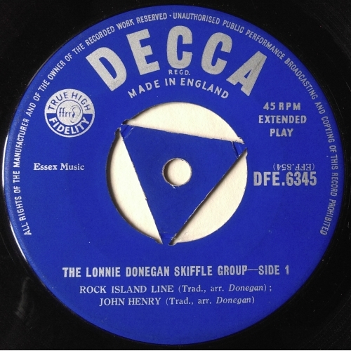 Lonnie Donegan's Skiffle Group - Lonnie Donegan Skiffle Group - Vinyl Record - EP