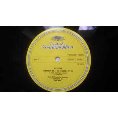 Ludwig Van Beethovewn,Berlin Philharmonic Orchestr - Sinfonie Nr. 7 A-Dur ● Coriolan-Ouvertüre - Vinyl - LP