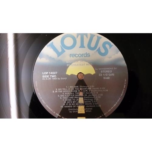 Mahalia Jackson - 20 Greatest Hits - Vinyl - LP