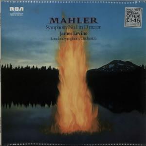 Mahler, James Levine, London Symphony orchestra - Symphony No. 1 In D Major - Vinyl - LP