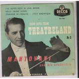 Mantovani - SONG HITS FROM THEATRELAND NO 2 - 7''- EP