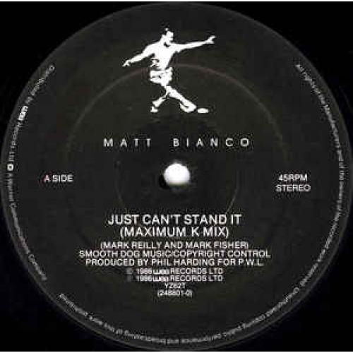"""Matt Bianco - Just Can't It - Vinyl - 12"""""""
