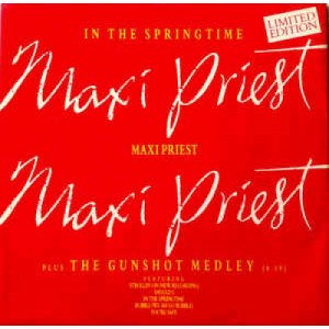 "Maxi Priest - In The Springtime  - Vinyl - 12"""