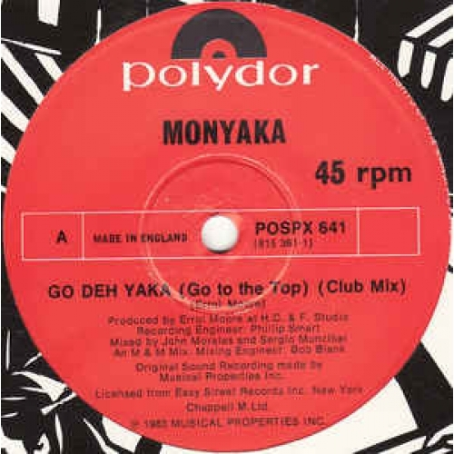 "Monyaka - Go Deh Yaka - Vinyl - 12"""