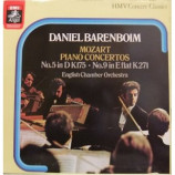 Mozart,Daniel Barenboim, English chamber orchestra - Two Piano Concertos: No.5 In D K.271, No.9 In E Flat, K.271