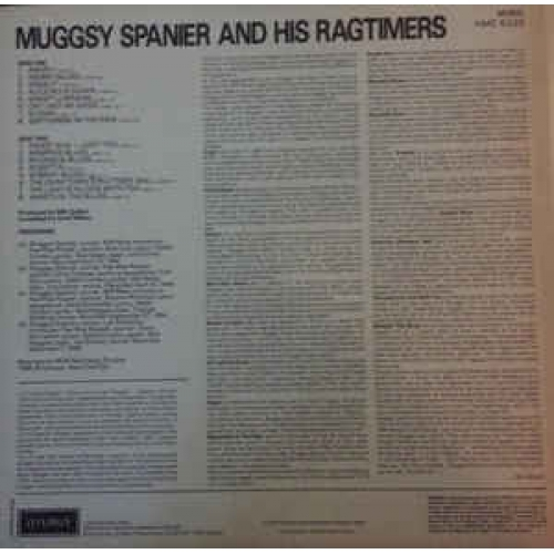 Muggsy Spanier And His Ragtimers - Muggsy Spanier And His Ragtimers - Vinyl - LP