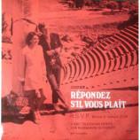 No Artist - Repondez S'il Vous Plait - R.S.V.P. Record 3: Repondez S'il